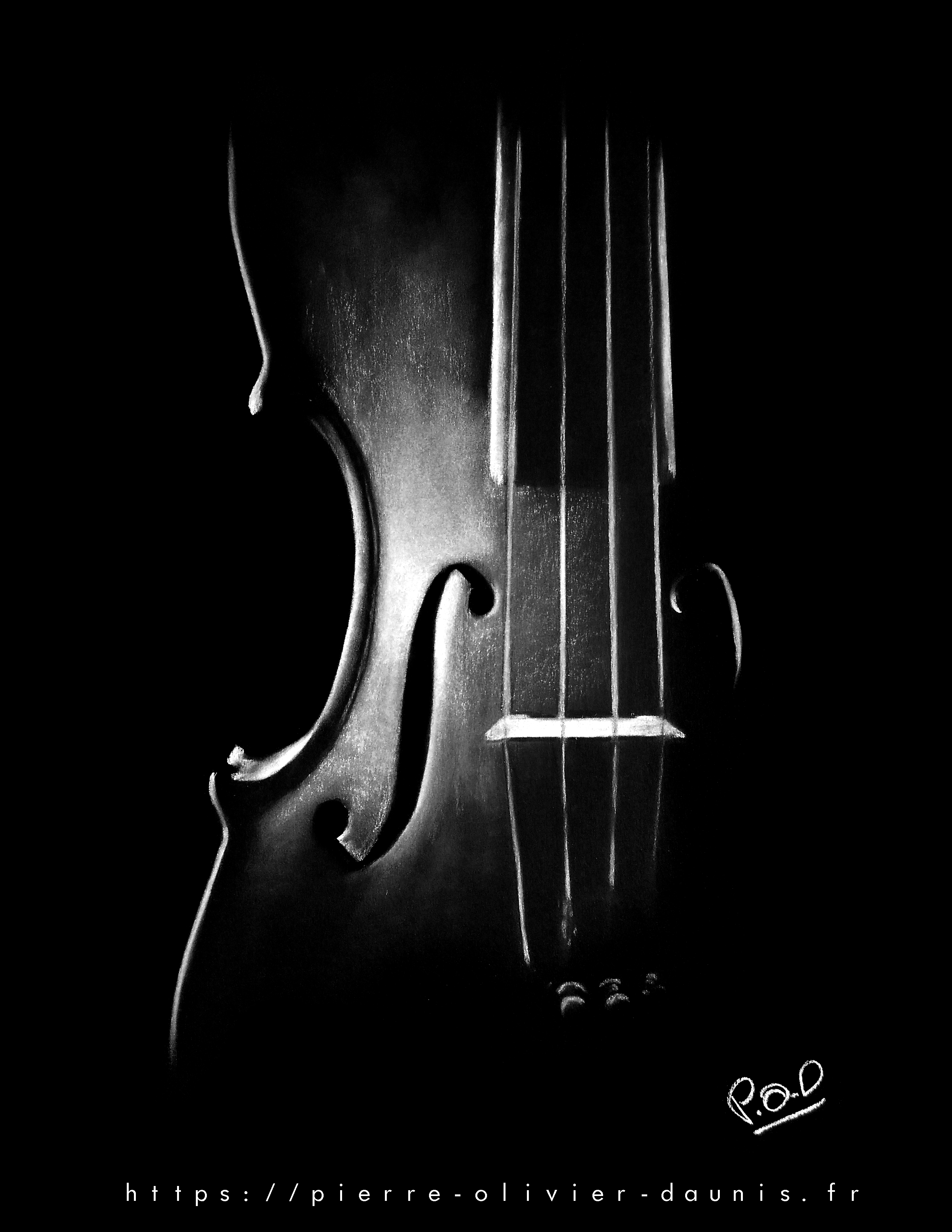 tableau de violon 2